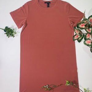 Peach T-shirt Dress